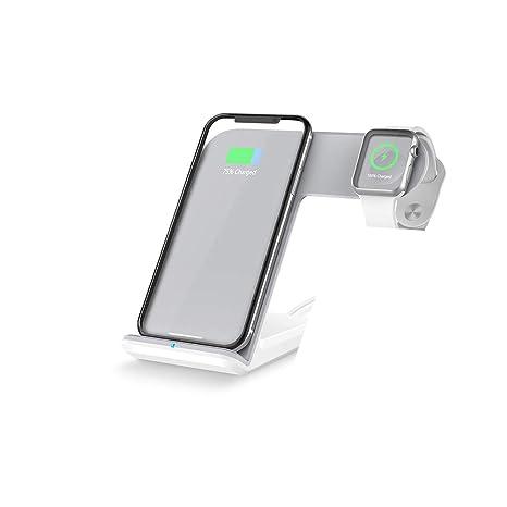 Xflelectronic 10W Qi Cargador inalámbrico para iPhone XS MAX ...