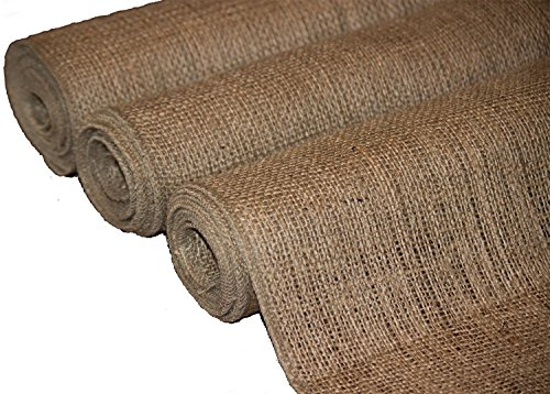 Burlap Table Runner 12
