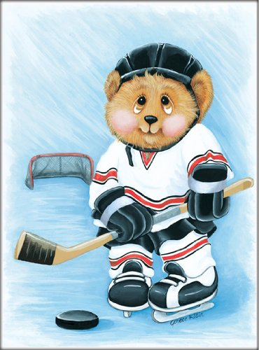 sports-bear-hockey-star-childrens-wall-art-8-x-10