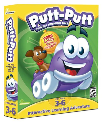 Putt-Putt Travels Through Time - PC/Mac