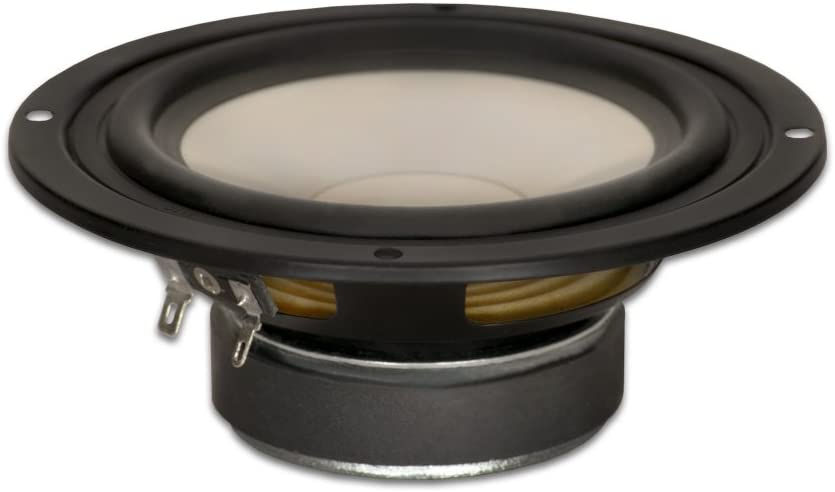 "Goldwood Sound GW-S525/4 Poly Cone 5.25"" Woofer 130 Watts 4ohm Replacement Speaker"