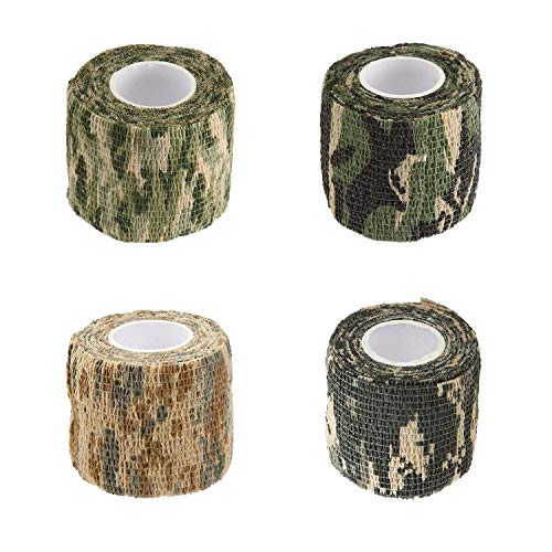 BOROLA Self-Adhesive Protective Camouflage Tape Cling Scope