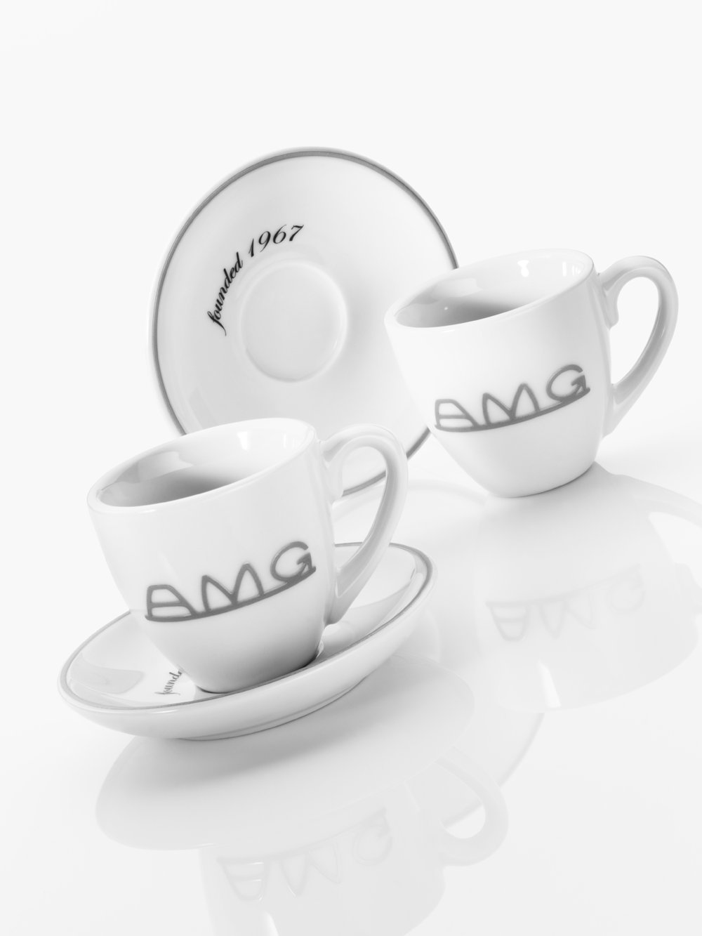 Espresso cups AMG Mercedes-Benz Set of 2