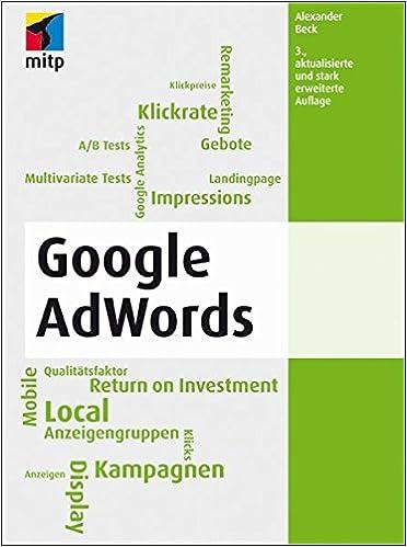 Cover des Buchs: Google AdWords (mitp Business)