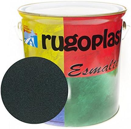 Pintura esmalte sintético de alta calidad ideal para pintar hierros, rejas, portones, puertas, ventanas, madera... Brillante / Satinado / Mate / Forja / Aluminio Plata / Metalizado Varios Colores (4L, Óxido Verde