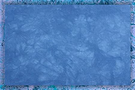 Hand-dyed 18 Count Aida Cloth (Zweigart) - 17x20 - Blueberry Pie Garibaldi' s Needle Works