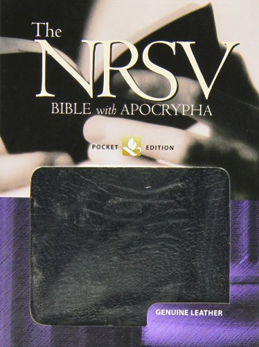 The New Revised Standard Version Bible With Apocrypha: Pocket Edition