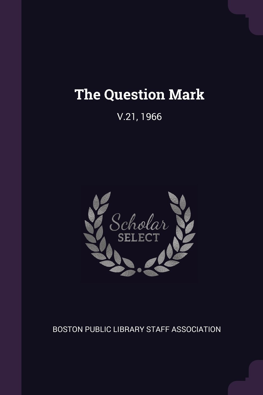 Download The Question Mark: V.21, 1966 ebook