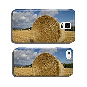 Straw bales in a field cell phone cover case Samsung S5