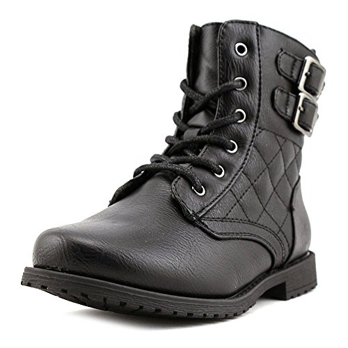 Rachel Shoes Lil Apollo Quilted Combat Boot (Toddler/Litt...