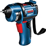 "BOSCH GSR BitDrive Professional ""Built in 12 BITs"" Cordless USB Recharrgable Electric Screwdriver 3.6V"