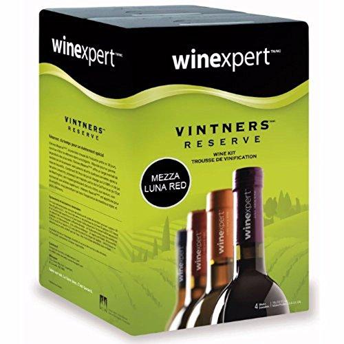 Vintners Reserve Mezza Luna Red 10 Liter Wine Making Kit (Best Cheap Red Wine Canada)