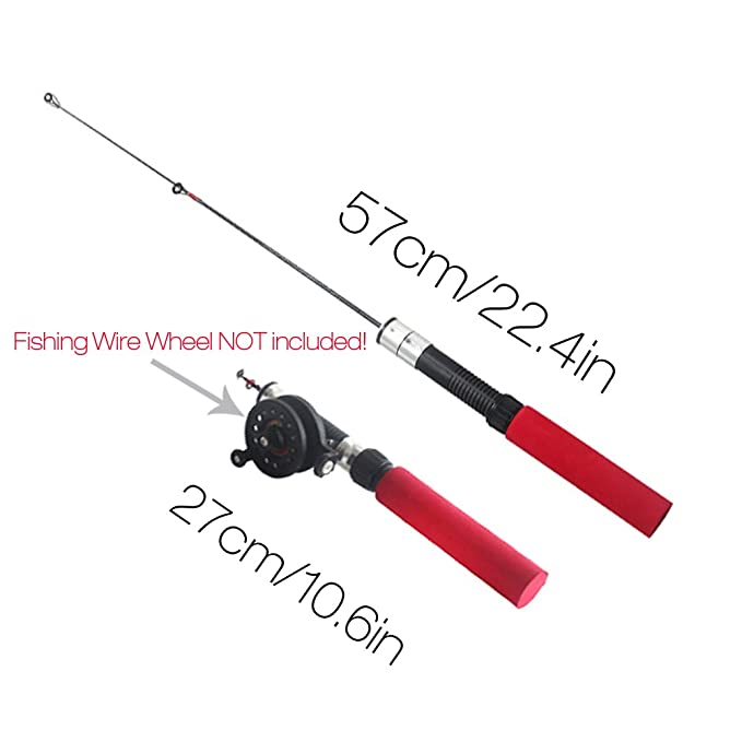 Carbon Fiber Telescopic Pocket Travel Spinning Pole Cute Travel Sea Fishing Rods