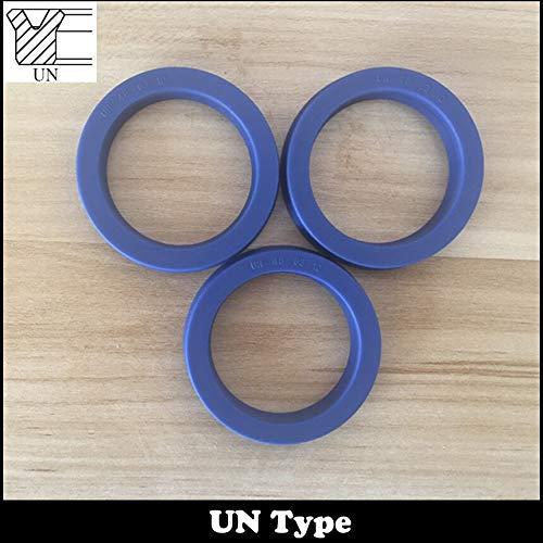 (Gimax UN 557512 55x75x12 558012 55x80x12 56686 56x68x6 TPU Hydraulic Rotary Shaft Piston Rod U Lip O Ring Gasket Wiper Oil Seal - (Size: 1Piece 55x80x12))