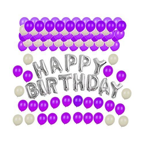 eDealMax de soire de Mariage Dcoration Joyeux Anniversaire Alphabet Ballons Lettre Ensemble-Cadeau