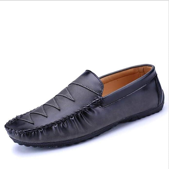 Zapatos para Hombres Cuero/Primavera / Otoño Comfort Mocasines y Slip-Ons Casual Driving Shoes: Amazon.es: Zapatos y complementos