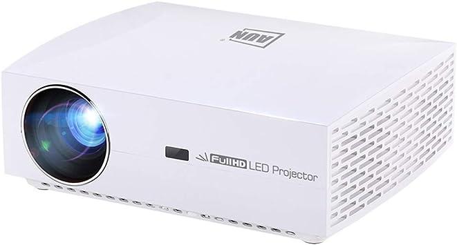 Zhouzl Proyector LED F30UP Pantalla LCD de 5.8 Pulgadas 5500 ...