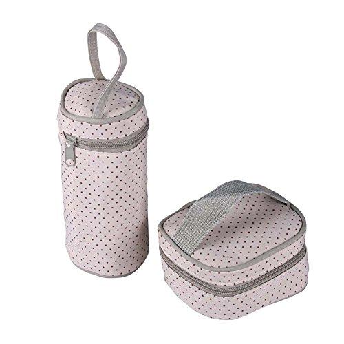 Win8Fong del bebé Set de 5en 1Oso Bolso de hombro Durable pañales pañal para Mummy bolsas morado caqui