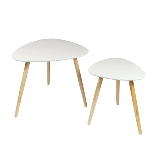 Mdf Cheap Price Coffee Table White High Gloss Center Table: P&N Homewares High Gloss Nest Of Tables In Grey White And