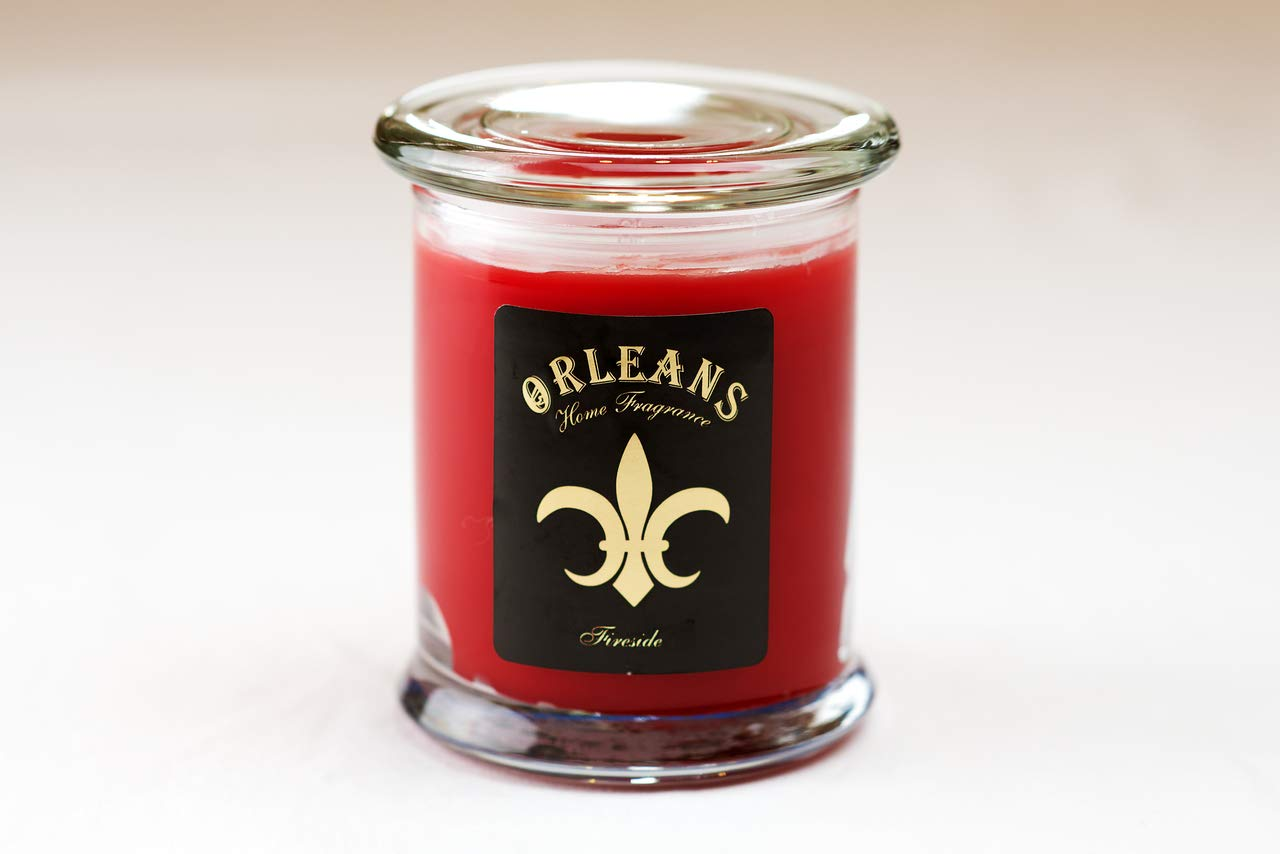 Orleans Home Fragrances Fireside Scented 11 oz 2 Wick Jar Candle