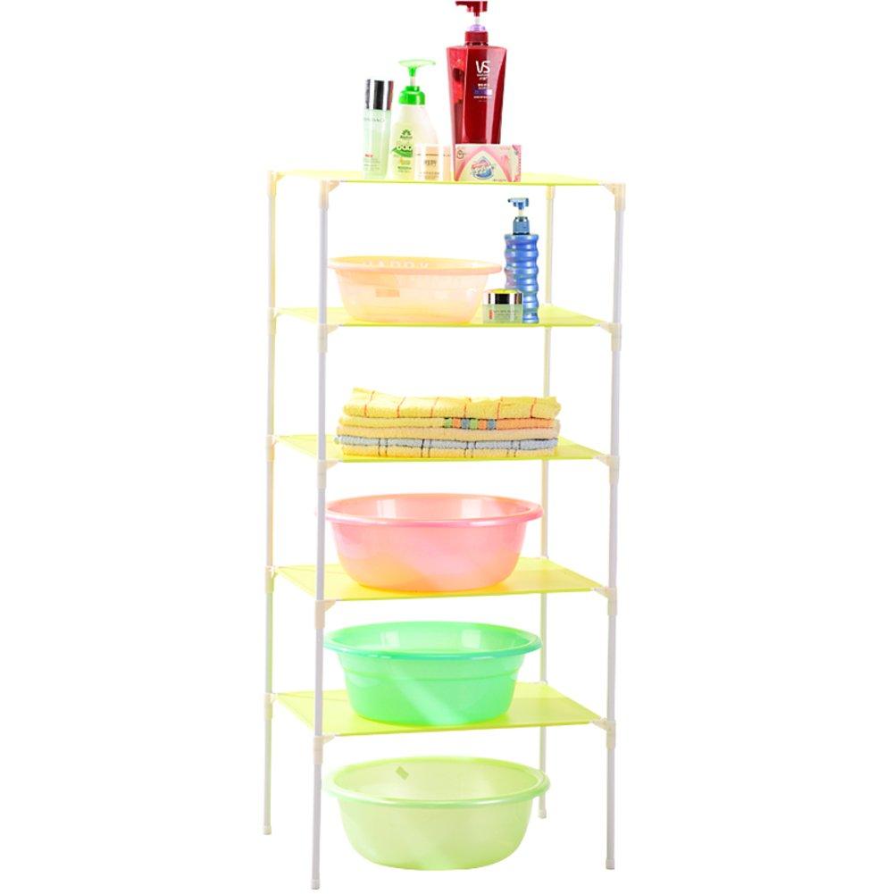 good Floor to ceiling rectangle plastic bath racks/Storage shelf/the ...
