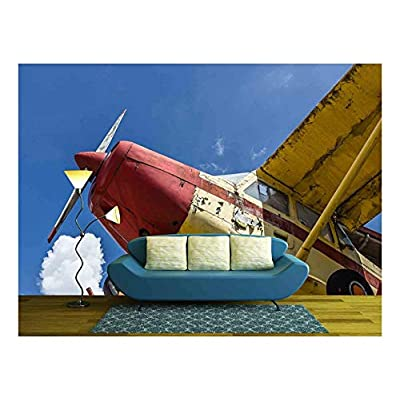 Dazzling Handicraft, That You Will Love, Vintage Airplane seen from Below with Blue Sky in The Background