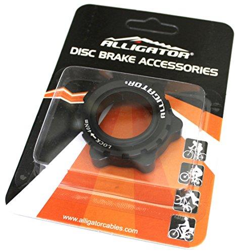 Alligator DISC Brake Rotor Center-Lock Adapter for 15/20mm Thru-Axle Hub Shimano, - Ring Hub Lock