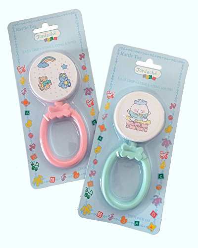 jordache-infant-rattle-toy-with-easy-grip-set-of-2-pink-green