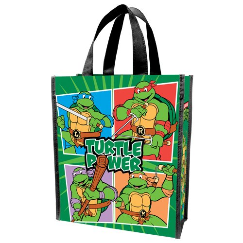 Shopper Multicolor Ninja Small Turtles Recycled Vandor 38073 Tote Teenage Mutant qSqg4T