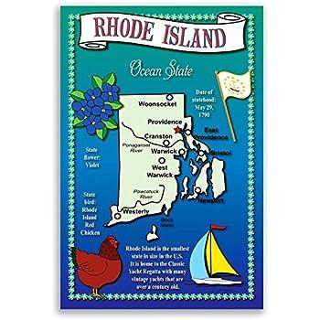 Rhode Island Size Rank