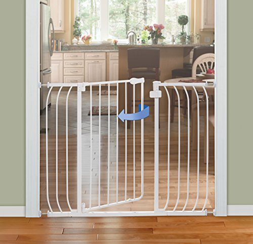 012914070604 - Summer Infant Multi-Use Extra Tall Walk-Thru Gate, White carousel main 2