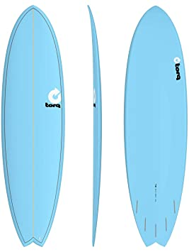 Tabla de Surf Torq epoxy Tet 7.2Fish Blue onda Jinete Surf