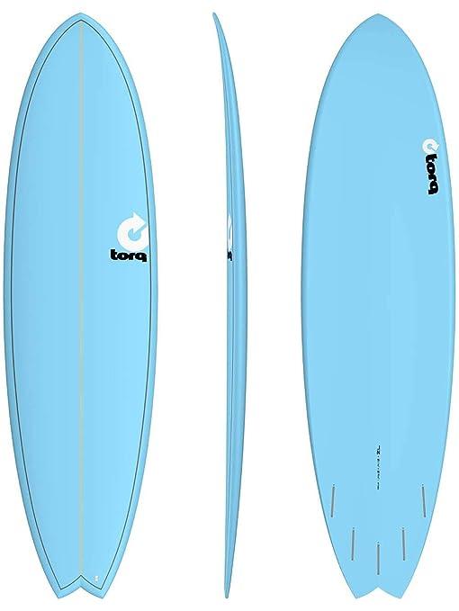 Tabla de Surf Torq epoxy Tet 7.2Fish Blue onda Jinete Surf