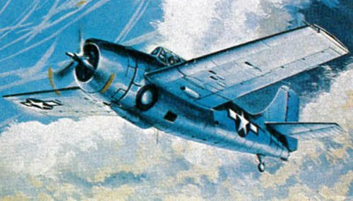 F4f 4 Wildcat Model - Revell Of Germany 04933 1/144 Micro Wings F4F-4 Wildcat