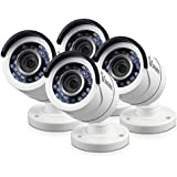 Swann T855 Bullet 1080P  4 Camera Pack add-on Bullet Camera, White (SRPRO-T855WB4-US)