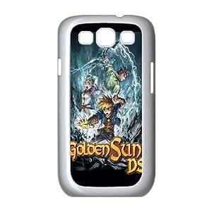 Golden Sun Dark Dawn Game Samsung Galaxy S3 9 Cell Phone Case White TPU Phone Case SV_271929