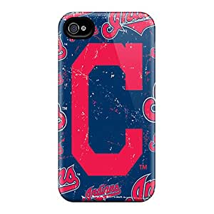 Bumper Hard Phone Case For Iphone 6plus With Provide Private Custom Attractive Cleveland Indians Image LauraAdamicska