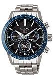 Seiko astron Mens Analog Solar Watch with Titanium Bracelet SSH001J1