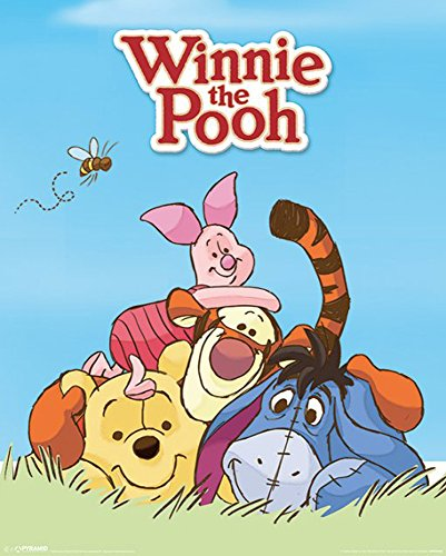 Empireposter–Winnie The Pooh Characters–Dimensions: Approximately 40x 50cm–Mini Poster ()