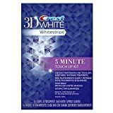 5 Minute Teeth Whitening Crest 3D White Stain Shield 5 Minute Touch-Ups Teeth Whitening Strips, 56 Count