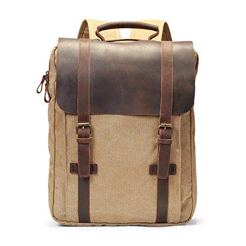 ECOSUSI Vintage Backpack Rucksack Daypacks product image