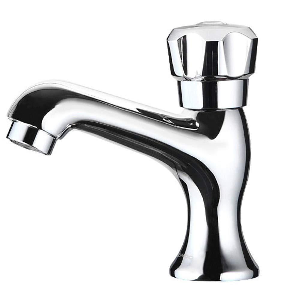 Zhcmy Faucet Copper Open Open Single Cold Cold Cold Cold Single Hole Basin Faucet Single Faucet 2161c0