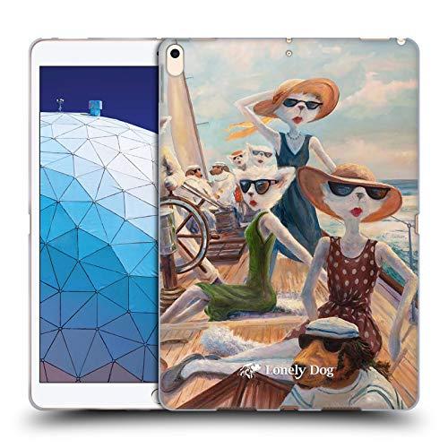 Official Lonely Dog Port Alveridge Regatta Summer Soft Gel Case Compatible for iPad Air (2019) (Regatta Air)