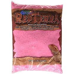 Estes Gravel Products SES62105 5-Pack RepTerra Reptile Calcium Carbonate Sand, 5-Pound, Pink