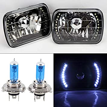 Park Light Bulbs /'HID/' Xenon Upgrade Lamps White LED Projector Side