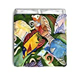 Tropical Fish School Comforter From Art (King size)