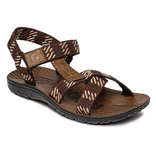 PARAGON Men's Brown Sandals-7 UK/India (41 EU)(PU8828G)