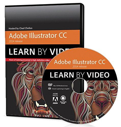 Peachpit Press Adobe Illustrator CC Learn by Video (2014 ...