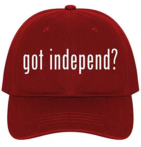 got Independ? - A Nice Comfortable Adjustable Dad Hat Cap, Red