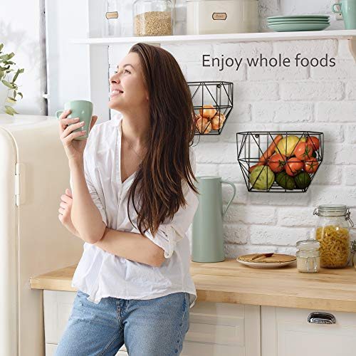 Buy kitchen wall baskets for fruits and vegetables